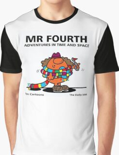 MR. FOURTH Graphic T-Shirt