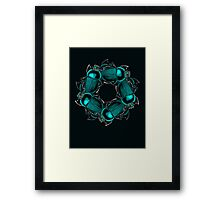 EGYPTIAN SCARAB Framed Print