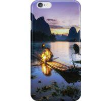 The Cormorant Fisherman iPhone Case/Skin