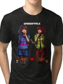 Undertale Mercy or Fight Tri-blend T-Shirt