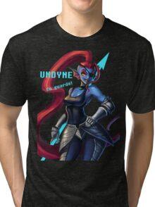 Undertale Undyne Tri-blend T-Shirt