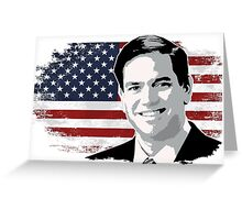 Marco Rubio for president 2016 Greeting Card