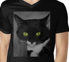 These eyes selective colour  Mens V-Neck T-Shirt