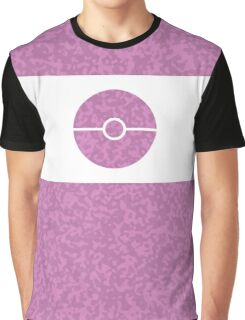 Pokemon CAMO Pink Graphic T-Shirt