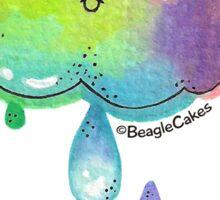 Kawaii Rainbow Cloud Sticker