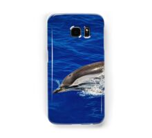 A wild free dolphin jumping  Samsung Galaxy Case/Skin