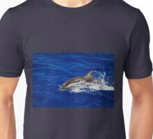 A wild free dolphin jumping  Unisex T-Shirt