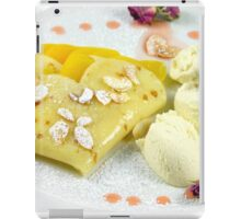 Dessert With The Taste of Summer Rose iPad Case/Skin