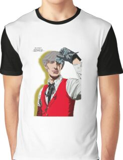 Persona 3 Akihiko Sanada Illustration. Graphic T-Shirt