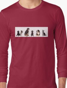 a whole lot of dogs Long Sleeve T-Shirt