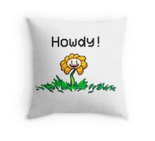 UnderTale Flowey The Flower! Throw Pillow