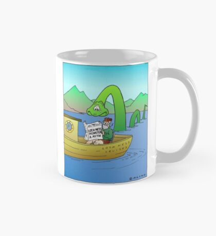 Extra! Extra! Loch Ness Monster a Myth! Mug