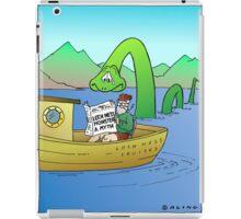 Extra! Extra! Loch Ness Monster a Myth! iPad Case/Skin