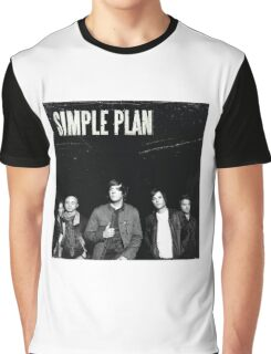 simple plan tour dates albums Graphic T-Shirt