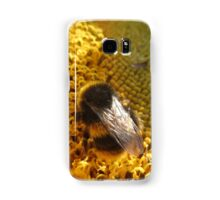 Bumble bee on sunflower Samsung Galaxy Case/Skin