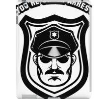 Police dept badge iPad Case/Skin