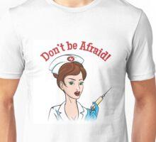 Nurse with injection syringe Unisex T-Shirt