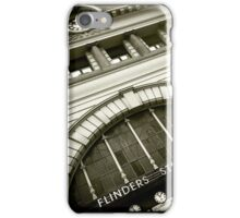 Under the clocks iPhone Case/Skin