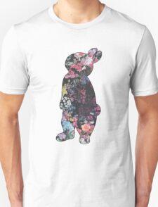 Floral Rabbit Unisex T-Shirt