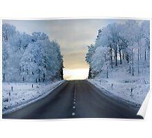 the frozen road Poster
