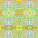 Fractal Pattern  by Rob Price