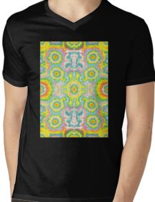Fractal Pattern  Mens V-Neck T-Shirt