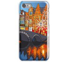 Colorful wonderful Amsterdam iPhone Case/Skin