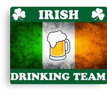 Irish Drinking Team (A) Canvas Print