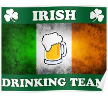 Irish Drinking Team (A) Poster