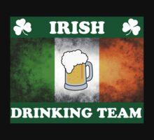 Irish Drinking Team (A) One Piece - Short Sleeve