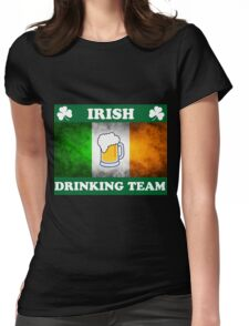 Irish Drinking Team (A) Womens Fitted T-Shirt