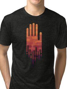 Drowning Hand Tri-blend T-Shirt