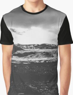 Ice giant - black and white landscape photography Graphic T-Shirt