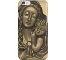 Mary and Baby Jesus iPhone Case/Skin