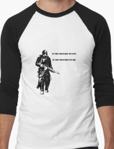 In the trenches Men's Baseball ¾ T-Shirt