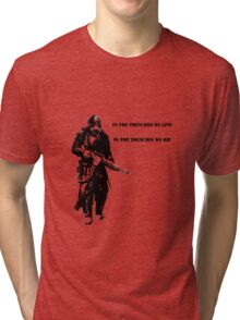 In the trenches Tri-blend T-Shirt