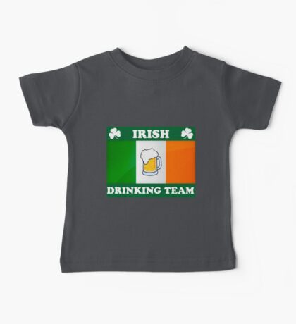 Irish Drinking Team (B) Baby Tee