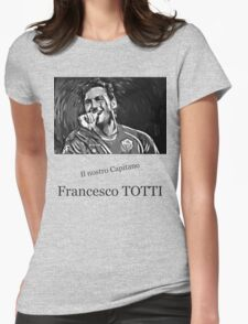 Francesco Totti Womens Fitted T-Shirt