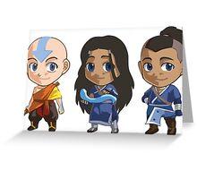 Team Avatar Greeting Card