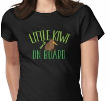 Little kiwi on board (New Zealand baby maternity pregnancy design) Womens Fitted T-Shirt