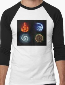 All element Avatar Men's Baseball ¾ T-Shirt
