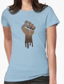 Black Power Womens T-Shirt