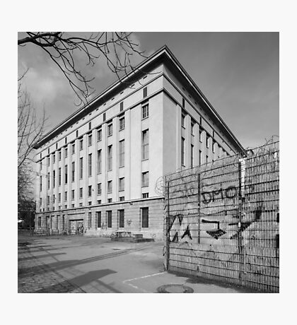 Berghain Photographic Print