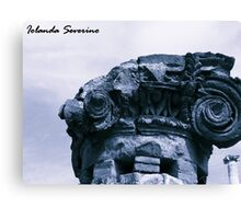museum , architerture, column, history, pompeii Canvas Print