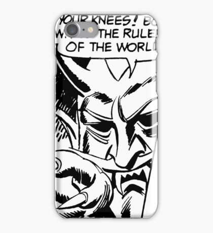 On Your Knees iPhone Case/Skin