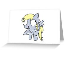 DERPYYY Greeting Card