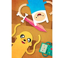 Adventure Friends Photographic Print