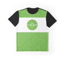 Pokemon CAMO Green Graphic T-Shirt
