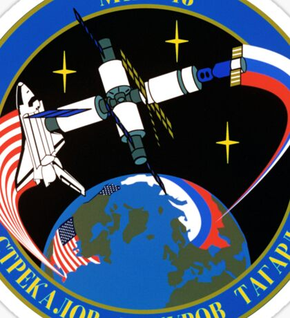 Soyuz 21 ISS Mission patch Sticker
