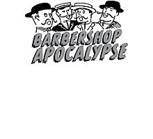barbershop apocalypse  Photographic Print